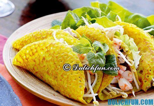 Những món ăn nào ngon và hấp dẫn ở Đà Nẵng: Món ăn vặt ngon, bổ, rẻ ở Đà Nẵng