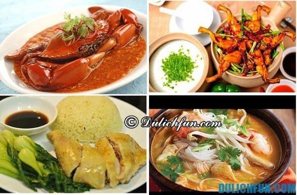 Những món ăn đặc sản nổi tiếng ở Singapore, kinh nghiệm du lịch Singapore tự túc,tiết kiệm ở Singapore