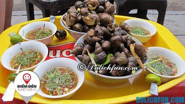 Quán ăn vặt ngon nổi tiếng Hà Nội