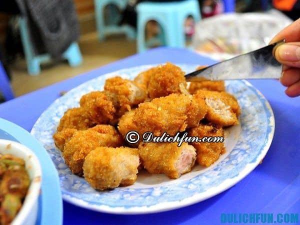 Danh sách những quán ăn vặt ở Hà Nội vừa ngon vừa rẻ