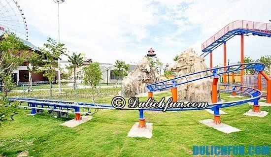 Những trò chơi vui nhộn dành cho trẻ em ở Asia Park Đà Nẵng