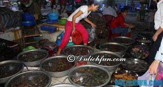Chợ hải sản tươi ngon giá rẻ ở Đà Nẵng
