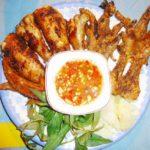 Chân gà nướng ở phố 8 Ninh Bình một trong những địa điểm ăn uống giá rẻ ở Ninh Bình