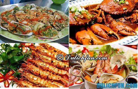 Quán ăn ngon nổi tiếng của du lịch Ngũ Hành Sơn: Địa chỉ nhà hàng hải sản ở Ngũ Hành Sơn