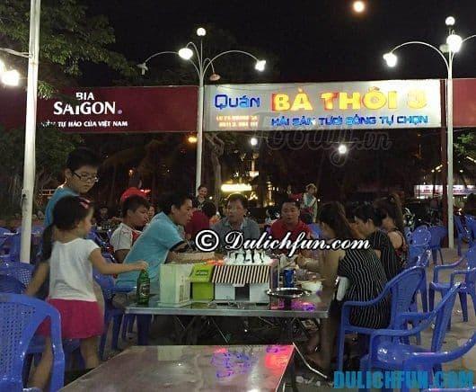Nhà hàng hải sản ngon giá rẻ ở Đà Nẵng