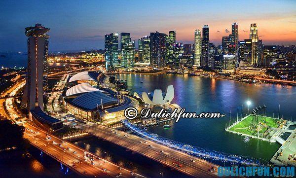 Kinh nghiệm du lịch phượt Singapore chia sẻ thời điểm du lịch Singapore hợp lý nhất vào tháng mua sắm, tháng diễn ra lễ hội nổi tiếng Singapore