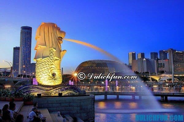 Singapore điểm đến lý tưởng và thú vị trong hành trình du lịch bụi Singapore của bạn và những người thân yêu
