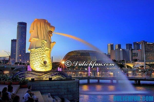 Chia sẻ kinh nghiệm du lịch Singapore giá rẻ, tiết kiệm và tổng hợp những địa điểm vui chơi miễn phí, những món ăn ngon hấp dẫn nổi tiếng Singapore