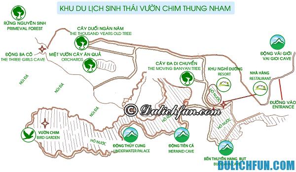 Kinh nghiệm du lịch Thung Nham - cách di chuyển, phương tiện di chuyển