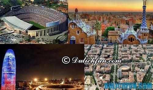 Hướng dẫn du lịch Tây Ban Nha: Những địa điểm đẹp của Tây Ban Nha
