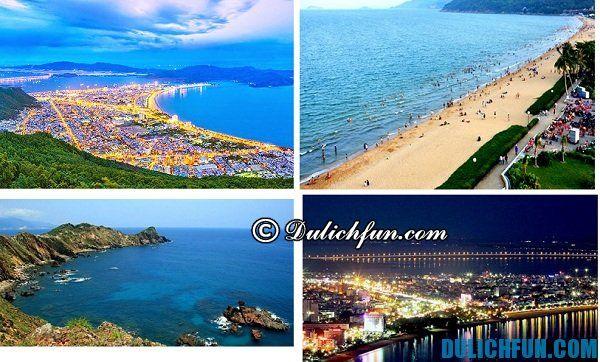 Thành phố biển Quy Nhơn hiền hòa, tươi đẹp là điểm dừng chân lý tưởng cho du khách mỗi dịp tham quan Bình Định
