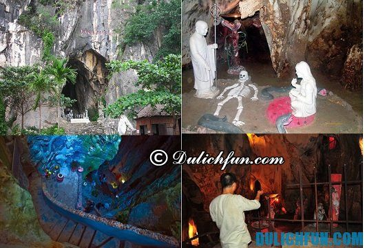 Thông tin du lịch Ngũ Hành Sơn: hang động bí ẩn trong núi Ngũ Hành Sơn