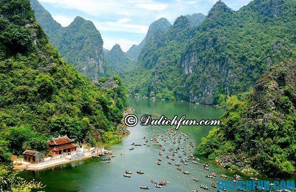 Tràng An điểm du lịch đẹp nổi tiếng tại Ninh Bình
