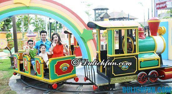 Trò chơi gia đình vui nhộn ở công viên Châu Á Đà Nẵng