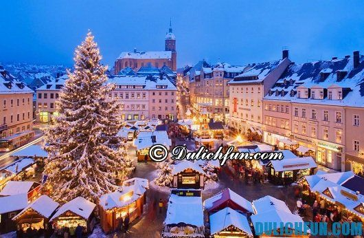 Tư vấn du lịch Đức thuận lợi, tiết kiệm: phong cảnh đẹp của nước Đức