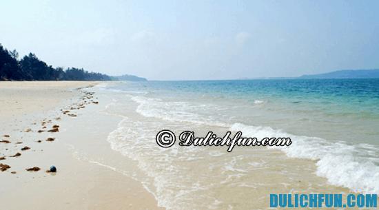 Tư vấn lịch trình du lịch đảo Cô Tô: những bãi biển đẹp ở đảo Cô Tô