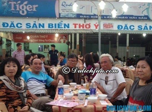 Tuyển chọn những quán hải sản ngon nhất ở Đà Nẵng