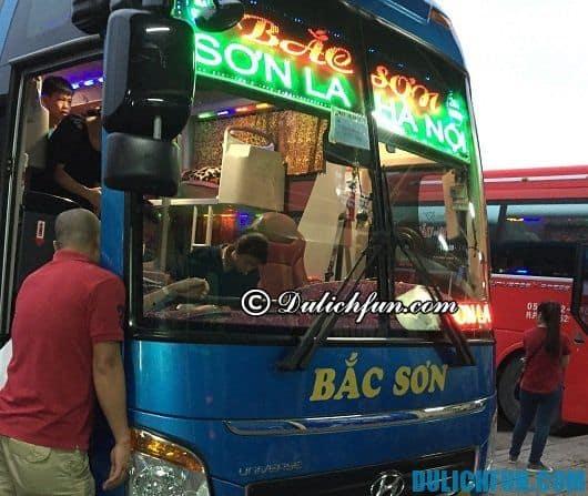 Xe khách đi du lịch Sơn La: kinh nghiệm chọn phương tiện du lịch Sơn La