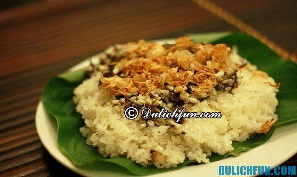 Xôi trứng kiến Nho Quan thơm ngon, bổ dưỡng, được chế biến cẩn thận. Đây là món ăn tinh tế đậm vị của đất và người Ninh Bình