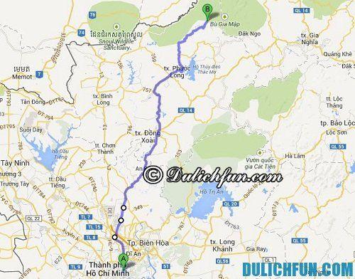 Kinh nghiệm du lịch Đắk Nông: Đường đi từ Hồ Chí Minh tới Đắk Nông