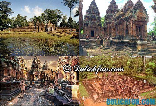 Hướng dẫn du lịch Campuchia chi tiết: Du lịch Campuchia ở đâu đẹp
