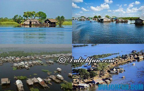 Hướng dẫn du lịch Campuchia ch tiết nhất: Du lịch biển hồ Campuchia