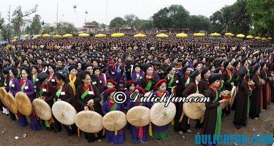 Những lễ hội truyền thống nét văn hóa trong du lịch Bắc Ninh