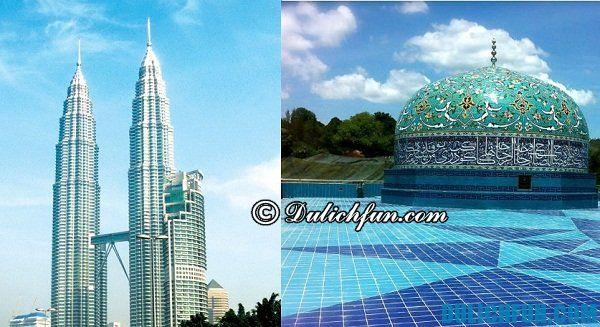 Điểm tham quan hấp dẫn ở Malaysia