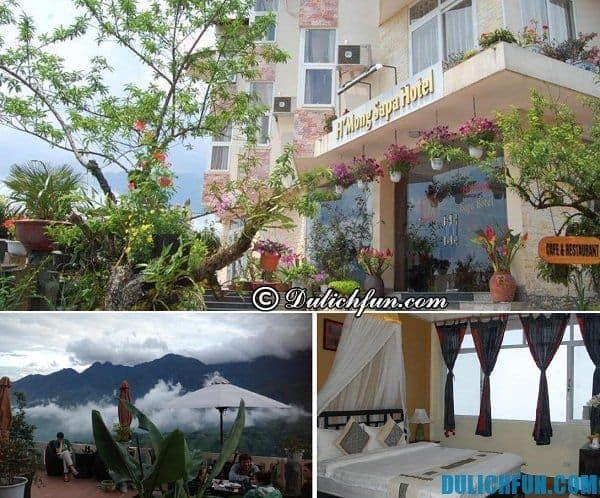 Những khách sạn được đánh giá cao ở Sapa, kinh nghiệm chọn phòng khách sạn