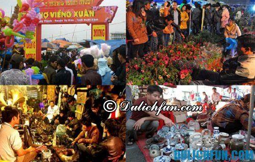 Cẩm nang du lịch Nam Định: du lịch chợ Viềng