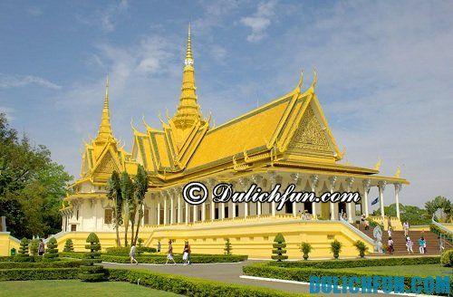 Hướng dẫn du lịch Campuchia chi tiết nhất: Du lịch chùa Bạc Campuchia