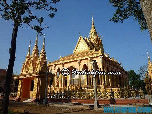 Cẩm nang du lịch Trà Vinh: chùa Cò Trà Vinh