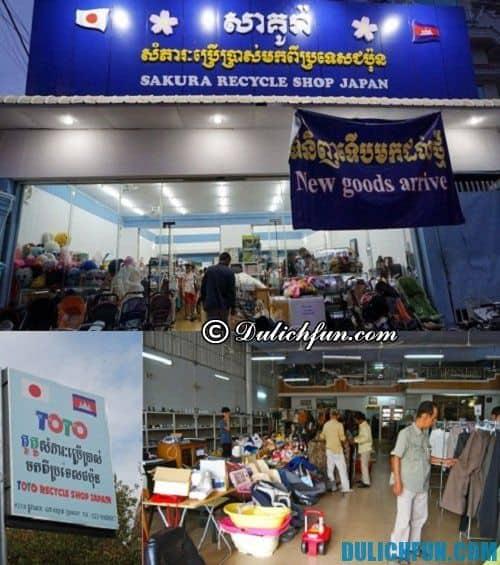 Kinh nghiệm du lịch Campuchia: Địa chỉ mua sắm giá rẻ ở Campuchia