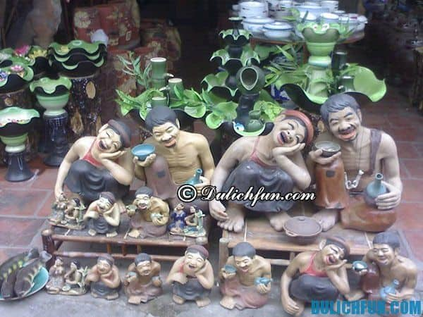 Tham quan làng gốm Bát Tràng 1 ngày