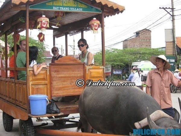 Phương tiện di chuyển ở Bát Tràng