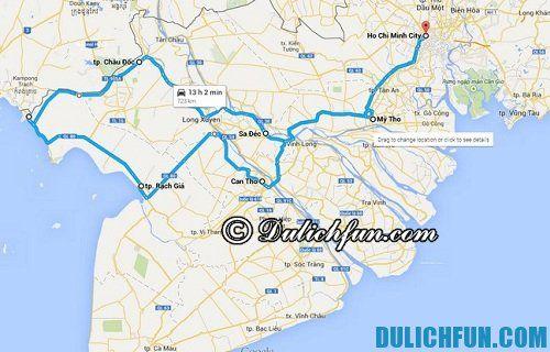 Du lịch bụi miền Tây giá rẻ: Hướng dẫn đường đi du lịch miền Tây giá rẻ
