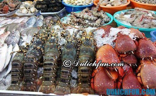 Kinh nghiệm du lịch Vĩnh Hy: những món ăn ngon, đặc sản của Vĩnh Hy, kinh nghiệm ăn uống ở biển Vĩnh Hy