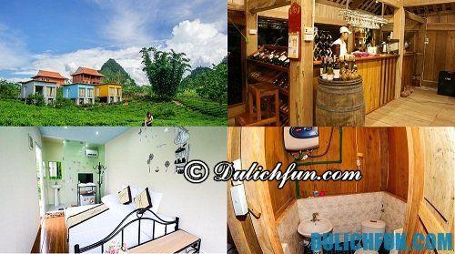 Kinh nghiệm du lịch Mộc Châu từ A tới Z: Khách sạn giá rẻ. tiện nghi ở Mộc Châu
