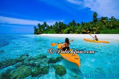 Kinh nghiệm du lịch Maldives: Du lịch Maldives đi chơi ở đâu? Danh lam thắng cảnh đẹp, nổi tiếng ở Maldives