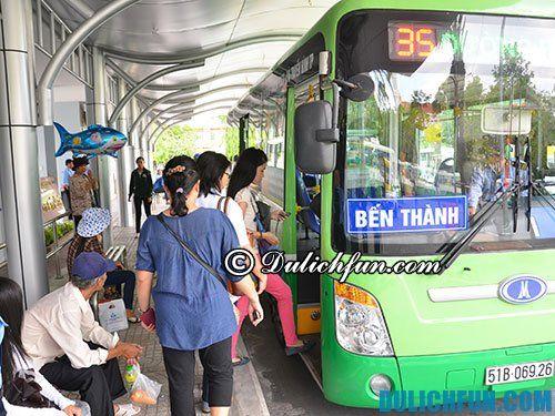 Hướng dẫn di chuyển tới Sài Gòn