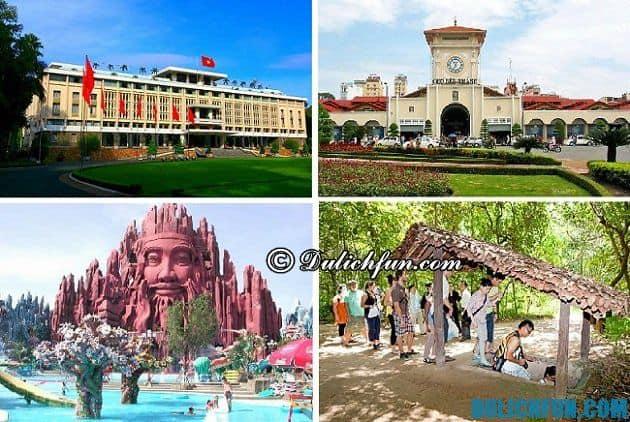 Du lịch Sài Gòn nên đi đâu đẹp?