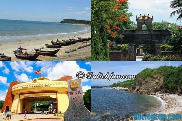 Những điểm tham quan nổi tiếng ở Quảng Trị