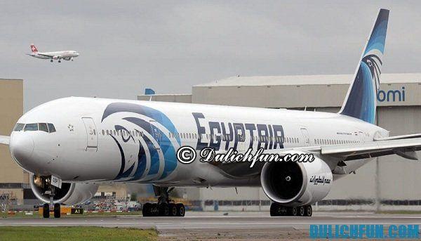 Hướng dẫn du lịch Ai Cập - phương tiện di chuyển