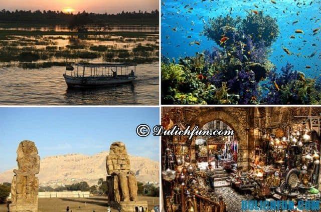 Hướng dẫn du lịch Ai Cập - địa điểm nổi tiếng