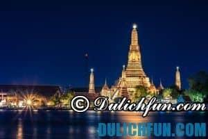Kinh nghiệm du lịch Bangkok tự túc an toàn, giá cực rẻ