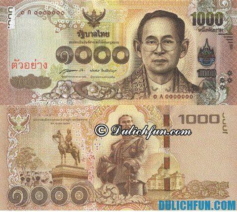 Hướng dẫn du lịch Bangkok - Đổi tiền Baht giá rẻ