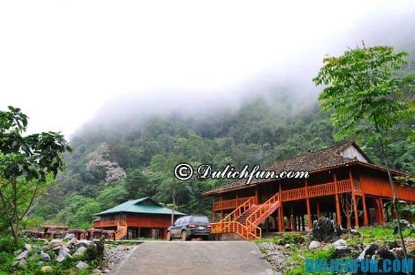 Kinh nghiệm du lịch bụi Cao Bằng - Nhà nghỉ, khách sạn.