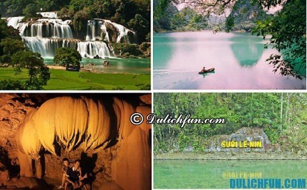 Cẩm nang du lịch bụi Cao Bằng- Địa điểm tham quan nổi tiếng ở Cao Bằng