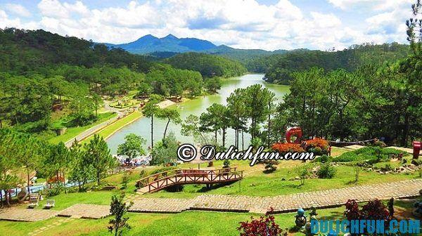 Điểm du lịch nổi tiếng ở Đà Lạt