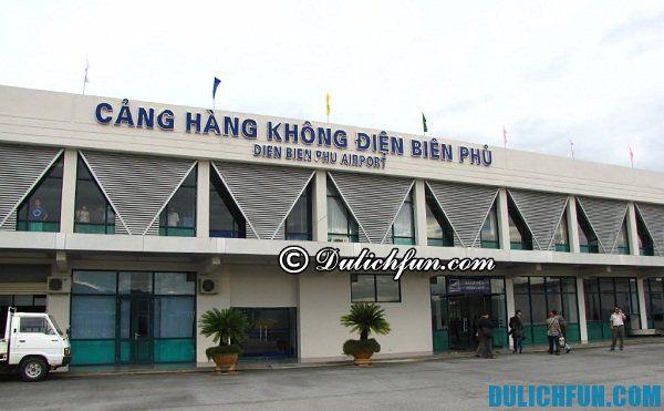 Du lịch Điện Biên, du lịch văn hóa, sân bay Điện Biên